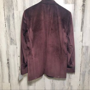 Kenneth Cole Suits & Blazers - Kenneth Cole Slim Fit Burgundy Velvet Sport Coat